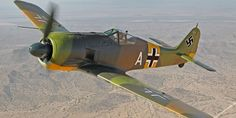 Everett's Flying Heritage Collection plans to make the public flying debut of its restored German Focke-Wulf Fw 190 Saturday. The airplane crashed in a marsh outside of Leningrad in 1943 … Ww2 Aircraft, Fighter Aircraft, Military Aircraft, Fighter Jets, Luftwaffe, Focke Wulf 190, Ww2 Planes, Aircraft Pictures, World War Ii