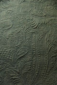 Whole Cloth Quilting / Tumblr