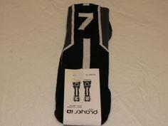 Player ID by TCK PCN LG # 7 TWI 1 sock black charcl vollyball basketball soccer #TCK #crewsock