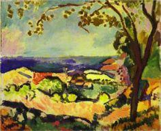 Collioure Landscape  - Henri Matisse