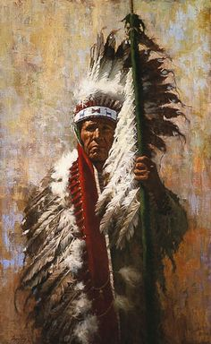 Native Americans are subjects for artists Howard Terpning, James Bama, Bev Doolittle, John Buxton and others. Native American Paintings, Native American Artists, Native Indian, Native Art, American Indian Art, American Indians, American Symbols, Sioux, Howard Terpning