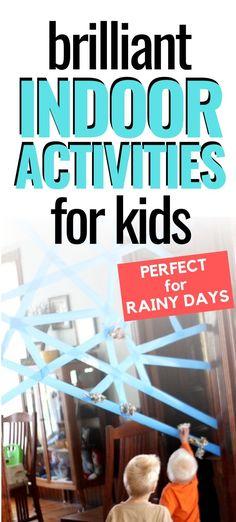14 Brilliant Indoor Activities for Kids!