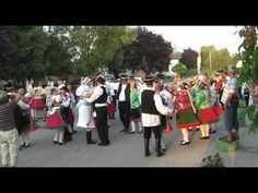 VIDEO: Traditional Hungarian wedding \Lieblinger tracht at 40 seconds an Fortune Telling Cards, Folk Dance, Folk Music, Folk Costume, My Heritage, Deconstruction, Woodstock, Homeland, Hungary