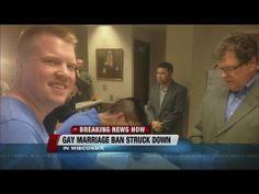 Judge overturns Wisconsin's same-sex marriage ban - http://www.cbaci.org/judge-overturns-wisconsins-same-sex-marriage-ban/