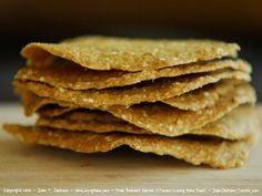 Pantry Staples: Tostada Shells. Two of my pantry staples. Great for both sweet or savory pursuits. Strong enough to hold up under the weight...