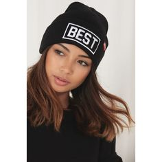 Best Beanie ($65) ❤ liked on Polyvore
