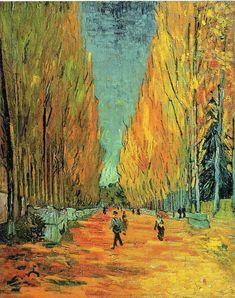 Vincent Van Gogh Les Alychamps