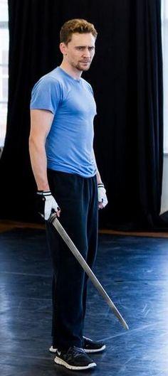 Tom Hiddleston looks perky ;) at #Coriolanus rehearsals   #Donmar Warehouse in London, UK, September, 2013