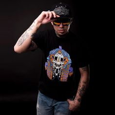 Corvid Culture are producers of quality durable premium limited edition urban streetwear clothing and lifestyle fashion for the alternative individual & the independent psyche. Hip Hop Art, Mexican Artists, Hiphop, Skeleton, Snapback, Egypt, Streetwear, Graffiti, Alternative