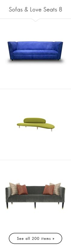 """Sofas & Love Seats 8"" by mysfytdesigns ❤ liked on Polyvore featuring home, furniture, sofas, sofa, colored furniture, miami home furniture, funky sofa, funky furniture, miami furniture and tables"