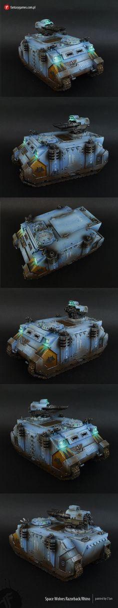 Space Wolves Razorback / Rhino