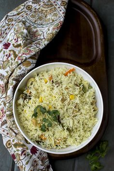Recipe to make Bengali Mishti Pulao with mixed vegetables. An easy to make rice dish that is aromatic and delicious. Veg Recipes, Indian Food Recipes, Vegetarian Recipes, Cooking Recipes, Bangladeshi Food, Bengali Food, Homemade Spices, India Food, Biryani