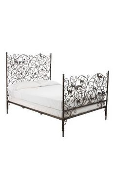 Love this head board - from Anthropologie! Dawning Lark Bed