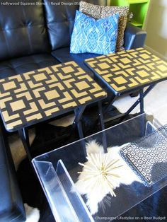 Ideas to Transform Old, Weathered and Distressed Furniture with Paint and Pattern