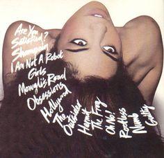 "Marina and the Diamonds... ""one track mind like a goldfish, stuck inside my petri dish..."""