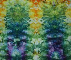Beth's Blog: Procion MX dyes-shibori and ice dyeing