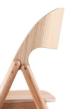 Wooden Folding Chair by David Irwin