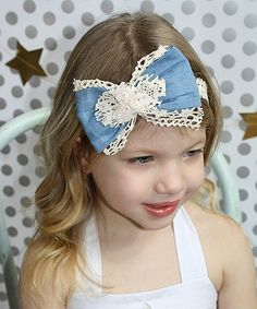 Elasticated Hairband Audacious Girls Easter Rabbit Fabric Hair Bow Sailor Bow