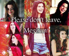 I wish she hadn't left! :'(