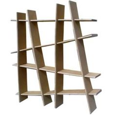 Cardboard shelving