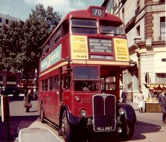 London Transport MLL667 August 1964 | RT2920 MLL667 out of N… | Flickr