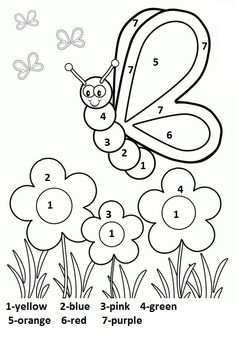 Spring Coloring Pages: Spring coloring sheets can actually help your kid learn more about the spring season. Here are top 25 spring coloring pages free Butterfly With Flowers Coloring Pages Silly Butterfly Coloring Page - Free Printable Coloring Book Page Coloring Worksheets For Kindergarten, Seasons Worksheets, Shapes Worksheet Kindergarten, Kindergarten Colors, Preschool Coloring Pages, Shapes Worksheets, Worksheets For Kids, Kindergarten Writing, Subtraction Kindergarten