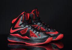 """Nike LeBron X """"Heat Away"""""""