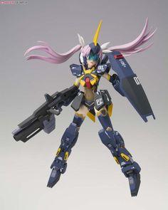 Armor Girls Project MS Girl Gundam MK-II (Titans Type) (PVC Figure) Item picture10