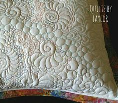 Quilted Pillow Sham, Finished King Sham for Sale