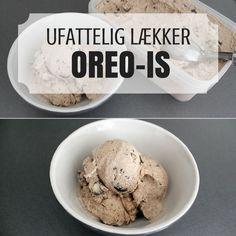 Den her Oreo is er ikke bare lækker, den er også virkelig nem at lave. Cold Snacks, Always Hungry, Ice Ice Baby, Cookie Desserts, Bon Appetit, Sweet Tooth, Deserts, Food Porn, Food And Drink