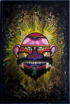 El nombre J. Loca (Barcelona, 1975) es indisociable del ambiente arrabalero del chino barcelonés en el que creció. En su infancia devoraba los cómics que vendía su abuelo en un quiosco de las Ramblas, y en la adolescencia se afilió al gremio graffitero del barrio.