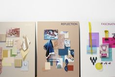 Eclectic Trends   A review: My Trend Lecture Spring/Summer 2019 at the Barcelona Design Week 2018 #ss19 #colortrends19 #moodboard Textiles, Fashion Project, Mood Boards, Barcelona, Trends, Creative, Spring Summer, Contemporary, Fashion Design