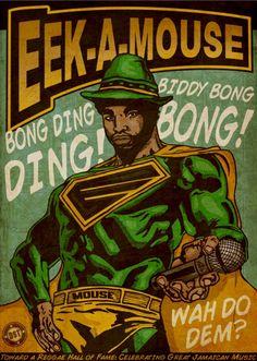 First Internacional Reggae Poster Contest – 2012