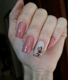 New bright nails for summer glitter 21 Ideas Pink Nail Art, Pink Nails, Glitter Nails, My Nails, Purple Nail Polish, Rose Nails, Flower Nails, Fancy Nails, Trendy Nails
