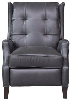 Lincoln Leather Manual Recliner