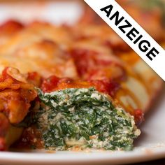 Spinat-Ricotta-Cannelloni Spinat-Ricotta-Cannelloni,Thermomix [ANZEIGE] Related posts:Italian Sausage Rigatoni with Spicy Cream Sauce - Cooking recipesOvernight Oats mit Himbeerpüree - Easy dinner 612 × 612 Pixel - Edeline Ca. Pasta Recipes, Dinner Recipes, Cooking Recipes, Cooking Tv, Cannelloni Recipes, Spinach Ricotta Cannelloni, Vegetarian Recipes, Healthy Recipes, Vegan Vegetarian