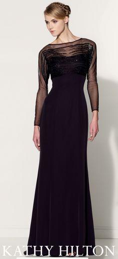 Kathy Hilton evening gown
