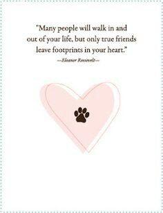 Elenor Roosevelt  ~ footprints on your heart♡