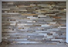 Peel and stick wood wall paneling. Stikwood - would be cute on a wall in a boy's nursery - hunting nursery - rustic nursery : My Pinterest Recipes