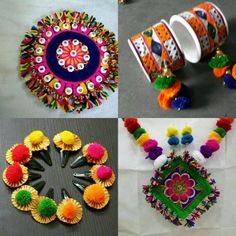 Order contact my WhatsApp number 7874133176 Garba Dress, Navratri Dress, Ornaments Design, Handmade Ornaments, Accessories Jewellery, Clothing Accessories, Textile Jewelry, Fabric Jewelry, Gota Patti Jewellery
