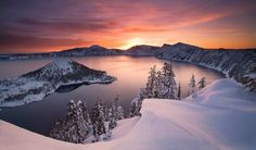 Crater Lake by Marc Adamus