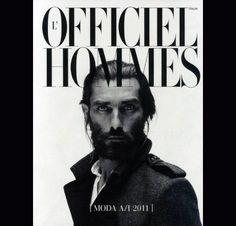 Patrick Petitjean by Pablo Arroyo for L'Officiel Hommes Italia