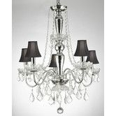 Found it at Wayfair - Royal 5 Light Crystal Chandelier