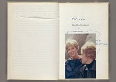 Persona / by Ingmar Bergman [with hand-written notes and sceneries]