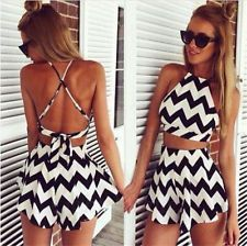 2017 cheap clothes china macacao feminino Two piece outfits playsuit bodysuit Backless stripe jumpsuit print bodycon women s-xl Summer Outfits, Casual Outfits, Fashion Outfits, Womens Fashion, Dress Fashion, Style Fashion, Casual Dresses, Dress Summer, Fashion Swimsuits