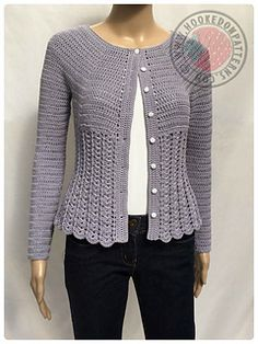 Ravelry: Kamila Fitted Cardigan pattern by Ling Ryan