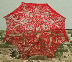 ergahandmade: Crochet Umbrella + Diagram
