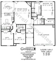 One Story House Plans Sq Ft Http Acctchem Com One Story