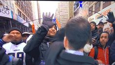High-fives for everybody! Except the guy who got face slapped