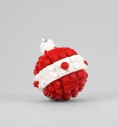 DIY LEGO Christmas Ornament Tutorial via Chris Mcveigh